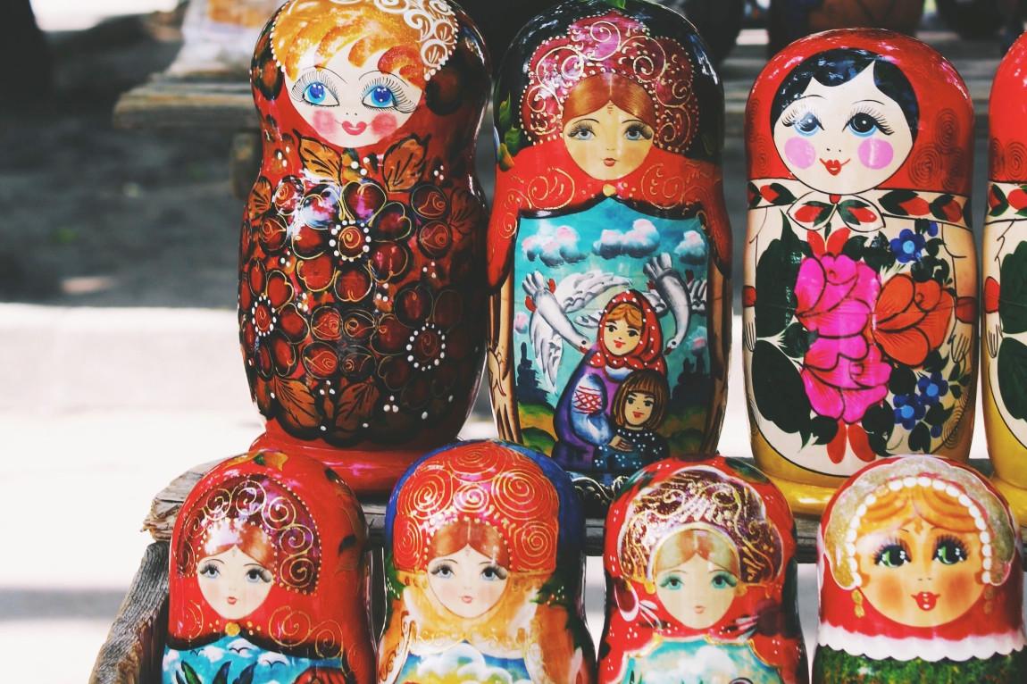 Viaje Rusia-matrioshkas