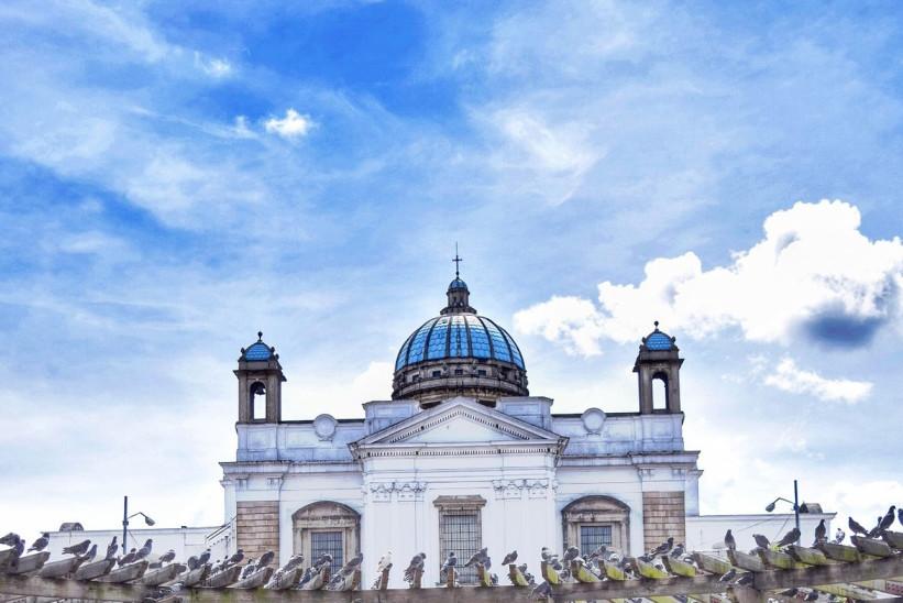 Viaje Guatemala-catedral