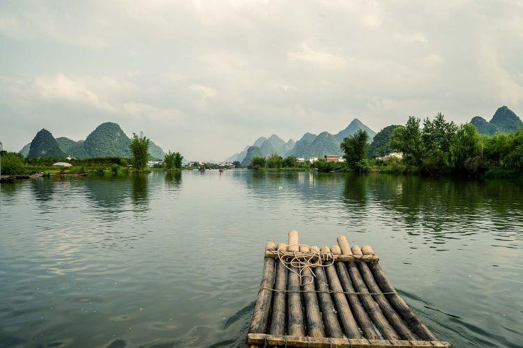 Viaje Vietnam-balsa-bambu