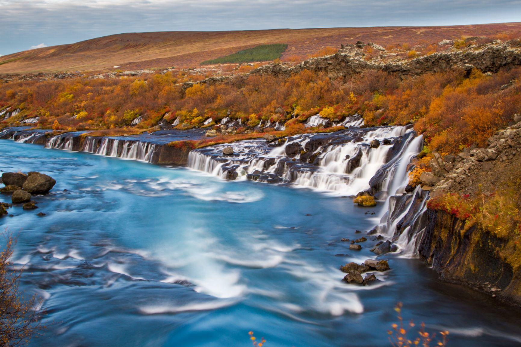 Viaje Islandia-hraunfossar