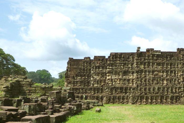 Viaje Camboya-siem-reap-la-terraza-del-rey-leper