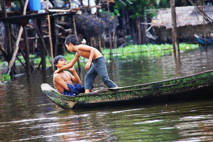 Viaje Camboya-kompong-phluk-tour-village