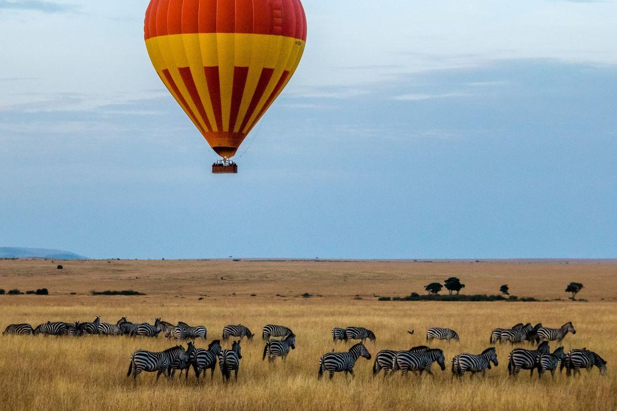 Viaje Kenia y Tanzania-globo-masai-mara