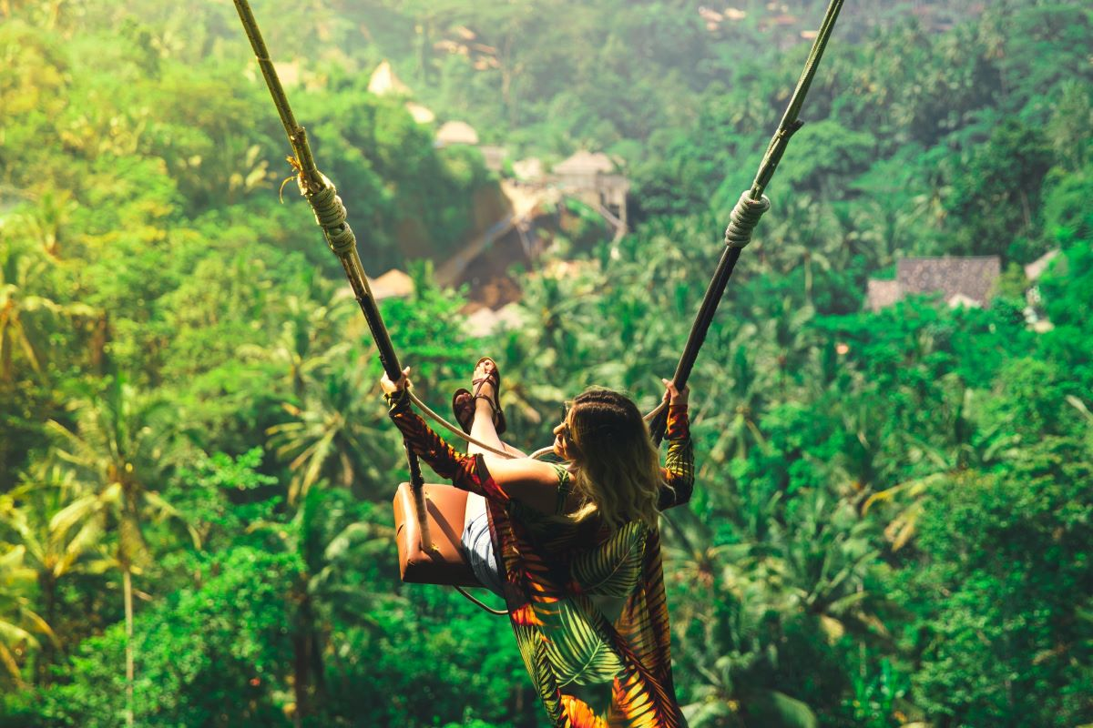 Viajar a Bali-columpio