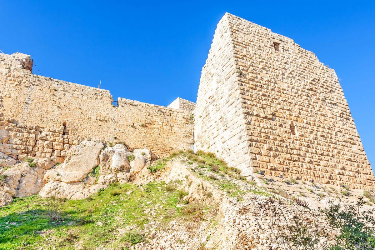Viajar a Jordania-castillo-aljun