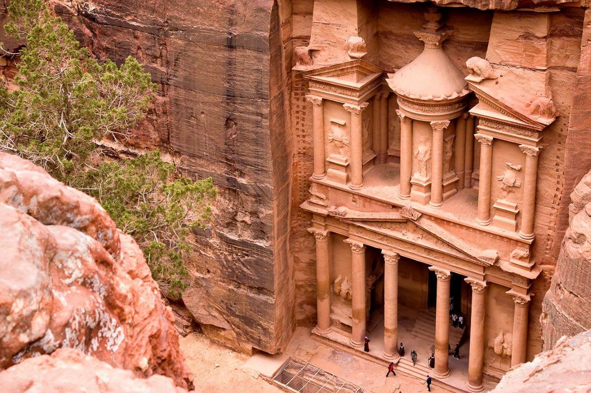 Viajar a Jordania-tumbas-reales-petra