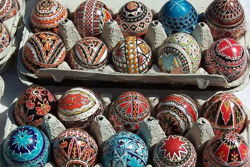 Viajar a Rumania-huevos-pintados