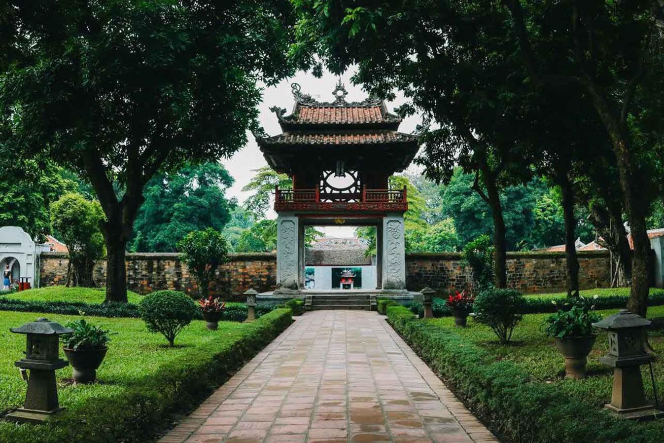 Viajar Vietnam y Camboya-templo-de-la-literatura