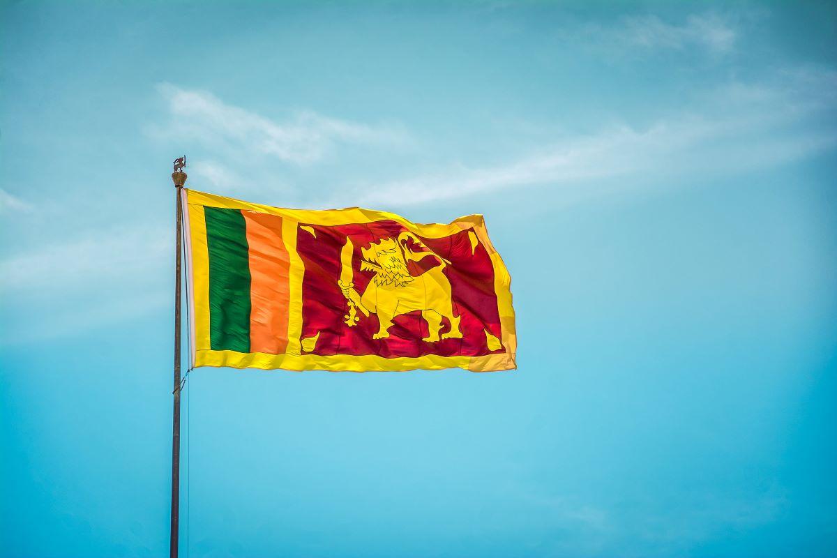 Viajar a Sri Lanka-bandera