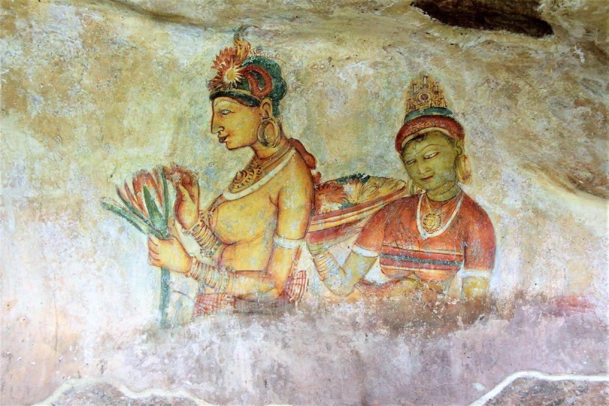 Viajar a Sri Lanka-doncellas-doradas