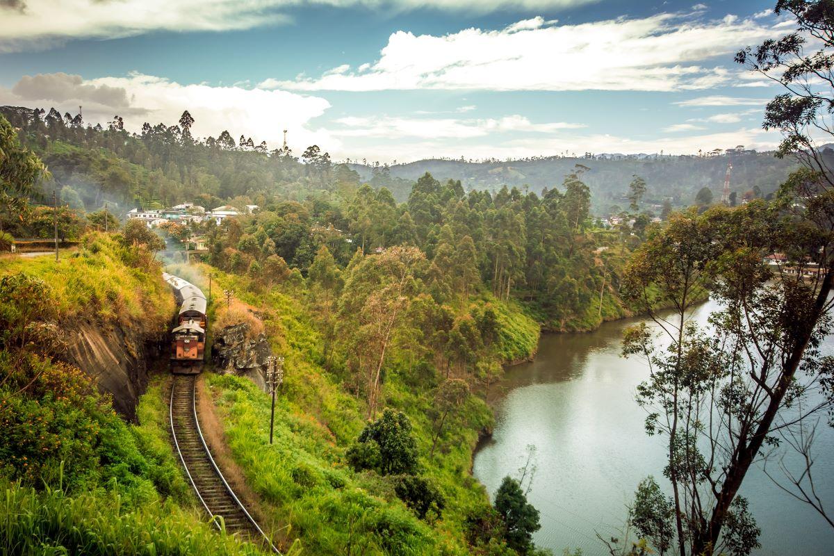 Viajar a Sri Lanka-tren