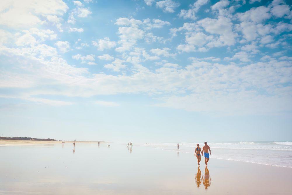 Viaje por España. Cádiz playa