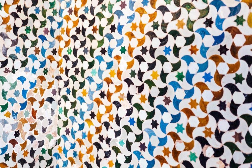 Viajar por España-granada-alhambra-mosaico