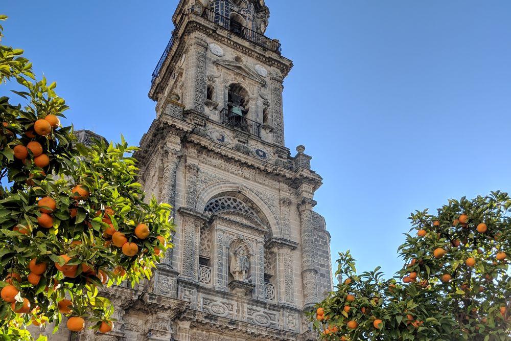 Viaje por España. Jerez iglesia santa cecilia