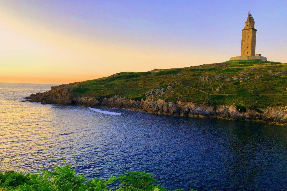 Viajar por España - Galicia faro-a-coruna