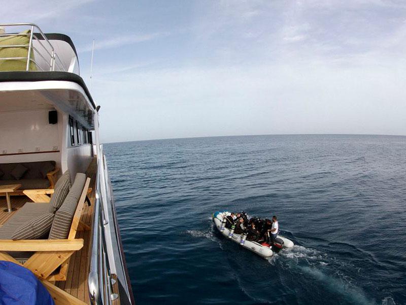 Viaje de buceo en Egipto